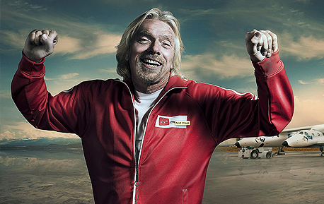 portrait richard branson