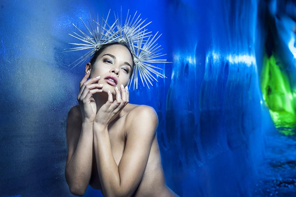 ice queen original - james nader fashion photographer