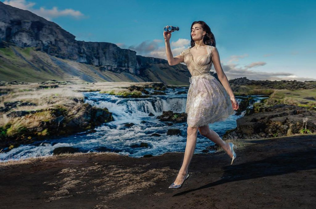 fashion photographers blog - working on location in iceland clients work