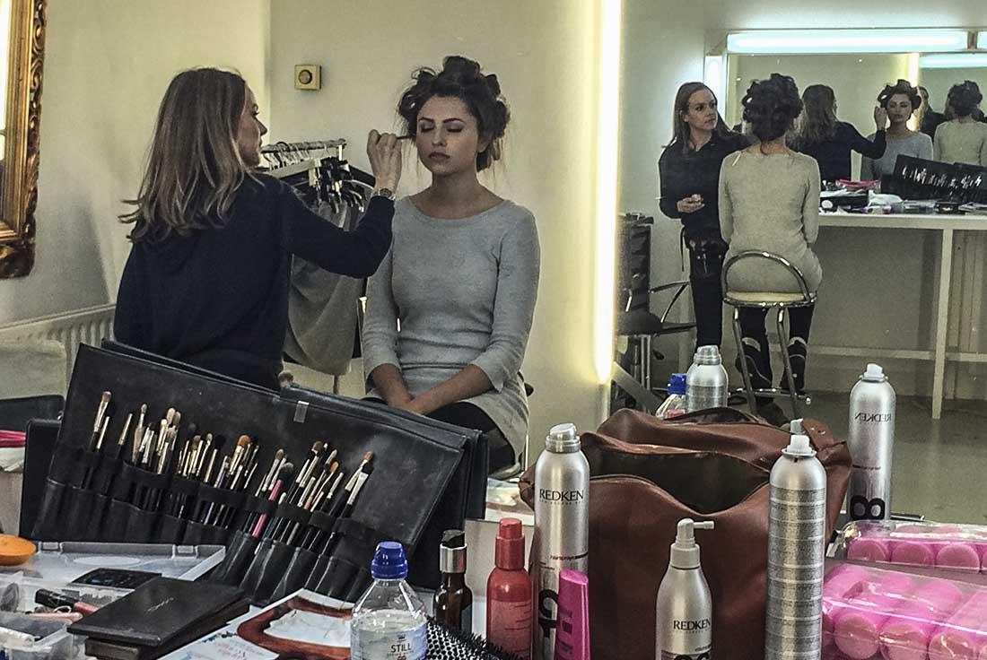 -fashion photographers blog -advertising photographers shoot London behind the scenes studio and fashion lighting