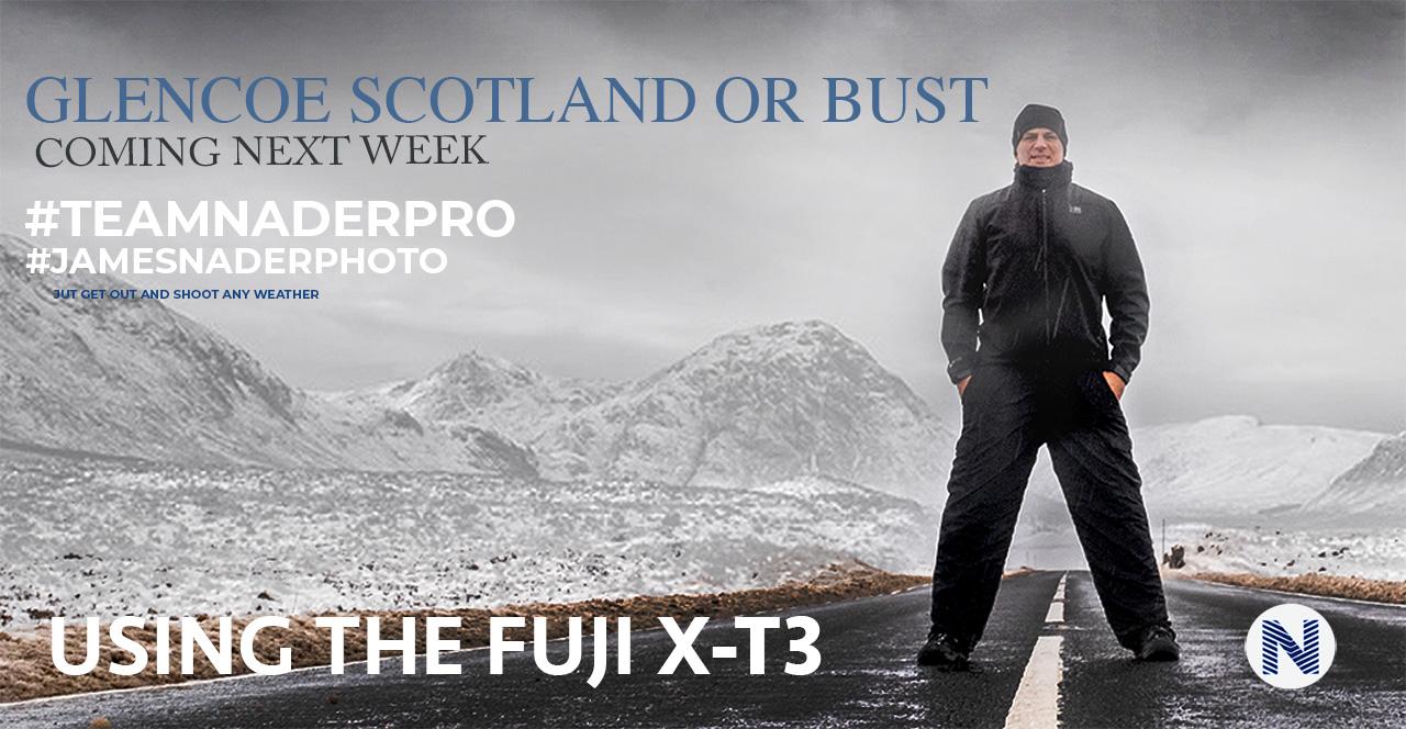 landscape photography scotland just go shoot snow